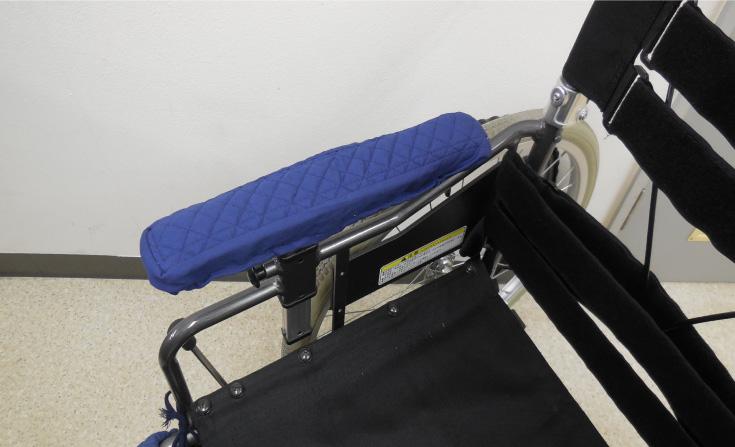 車椅子肘掛けカバー